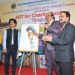 MCC Chandrashekhar Ghag at Lions Painting Auction